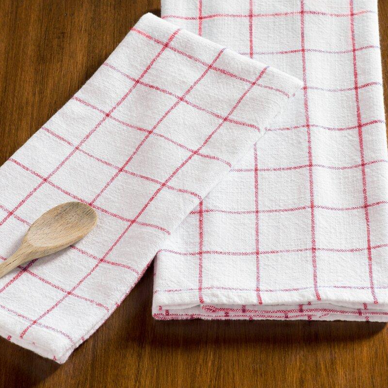 Zinia Grid Kitchen Hand Towel | AllModern