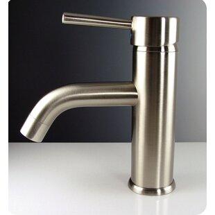 Sillaro Single Hole Mount Bathroom Faucet in Brushed Nickel