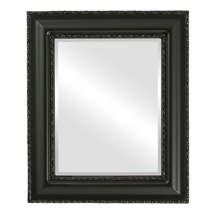 House of Hampton Wine Framed Rectangle Accent Mirror