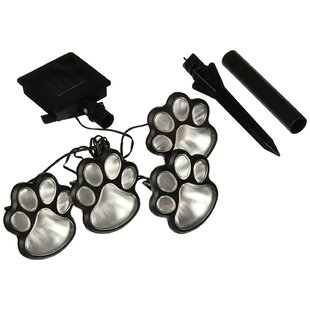 Top Reviews Paw Prints 4 Light Pathway Light By rif6