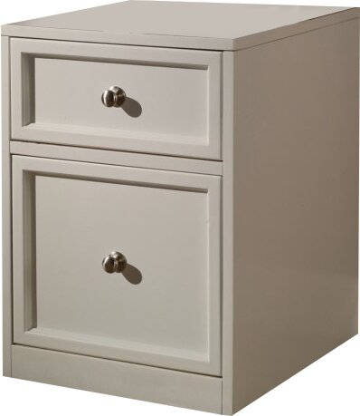 Veda 2 Drawer Wood Lateral File