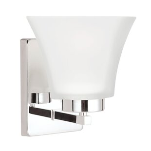 Hovland 1-Light Bath Sconce by Latitude Run