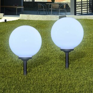 Horgan 2 Light LED Pathway Light (Set Of 2) By Brayden Studio