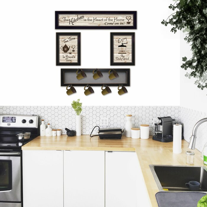 4 Piece Kitchen Wall Décor Set