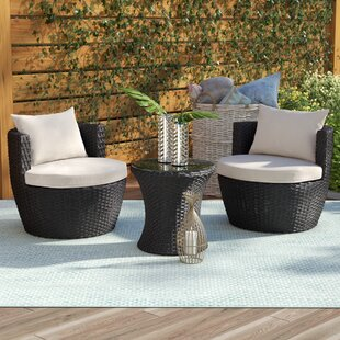 Collingswood 3 Piece 2 Person Seating Group with Cushions