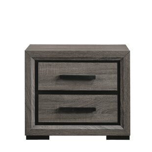 Stan 2 Drawer Nightstand