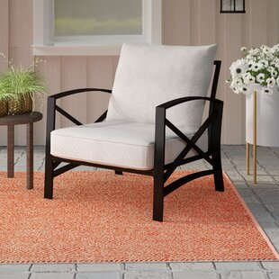Ivy Bronx Freitag Patio Chair with Cushion