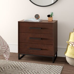Mcelvain 3 Drawer Chest by Mercury Row