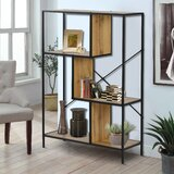 Arocho 45.2 H x 31.5 W Metal Etagere Bookcase by 17 Stories