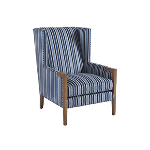 Stratton Wingback Chair by Bar..