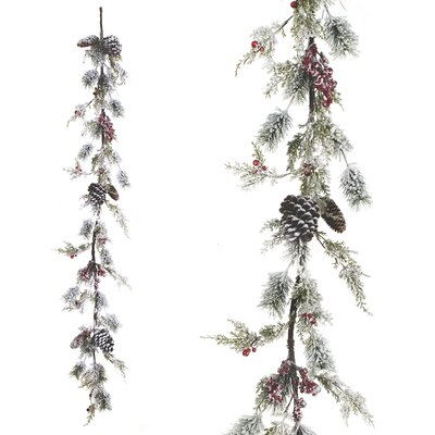 Joss Main6 Classic Spruce Pre Lit Garland With 40 Multicolored Lights Dailymail