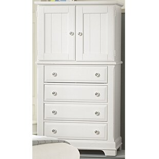Darby Home Co Marquardt 4 Drawer Combo Dresser Image