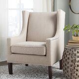 Chagnon Wingback Chair by Charlton Home®