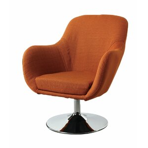 Lounge Chair in Orange by Wildon Home ?