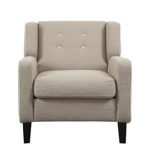 Alcott Hill Leech Tufted Back Armchair