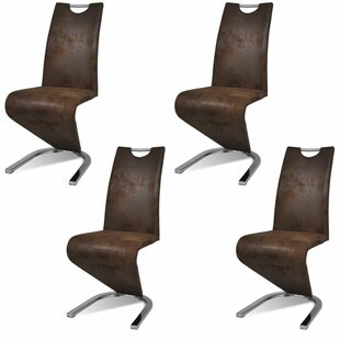 Adamsville Upholstered Dining Chair (Set of 4) by Orren Ellis