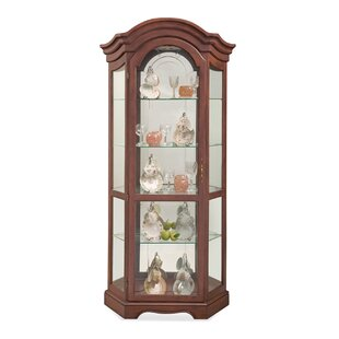 Philip Reinisch Co. Lighthouse Stafford Lighted Curio Cabinet