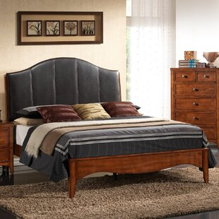 Auckland Queen Upholstered Panel Bed by New Spec Inc