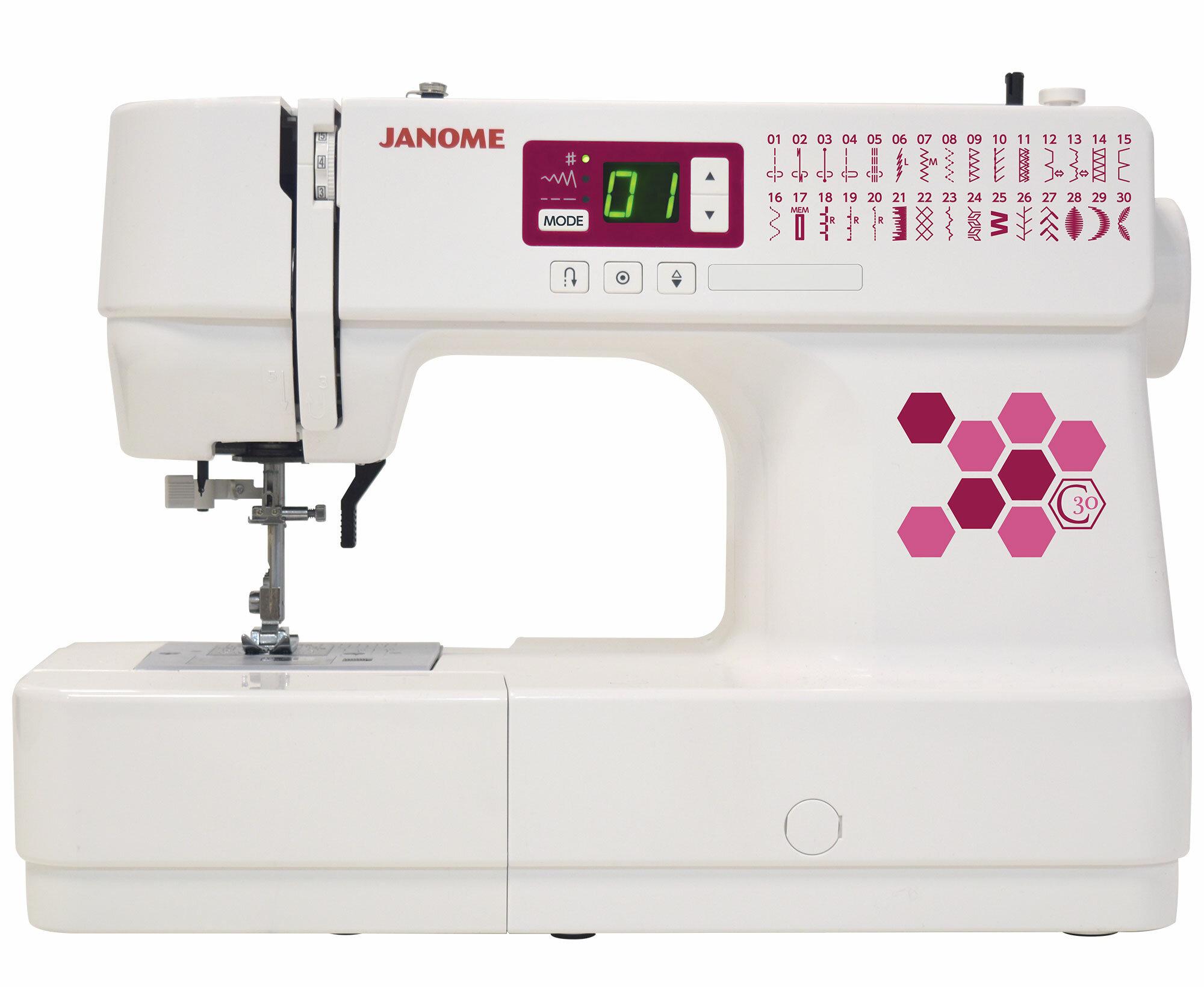 Janome C30 Computerized Electronic Sewing Machine Reviews Wayfair