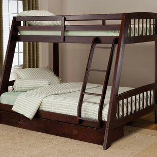 Madyson Twin Over Full Bunk Bed With Storage by Viv + Rae Wonderful