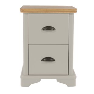 Garron 2 Drawer Bedside Table By Beachcrest Home