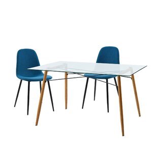 Minimalista 3 Piece Dining Set by VERSANORA
