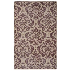 Datca Hand-Knotted Beige/Gray Area Rug