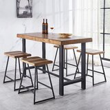 Melik 5 Piece Counter Height Dining Set by Gracie Oaks