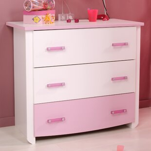 Kaleb 3 Drawer Chest by Zoomie Kids
