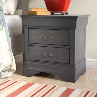 Laurel Foundry Modern Farmhouse Labrecque 2 Drawer Nightstand