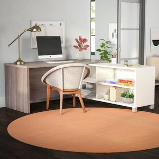 Heyworth Reversible L-Shape Executive Desk by Comm Office Coupon