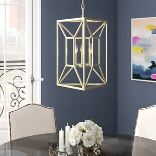Willa Arlo Interiors Missy 3-Light Lantern Chandelier