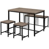 Robbinson 4 - Piece Dining Set by 17 Stories