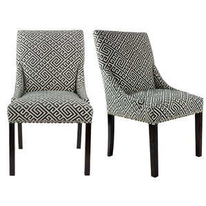 Maleah Upholstered Dining Chair (Set of 2..