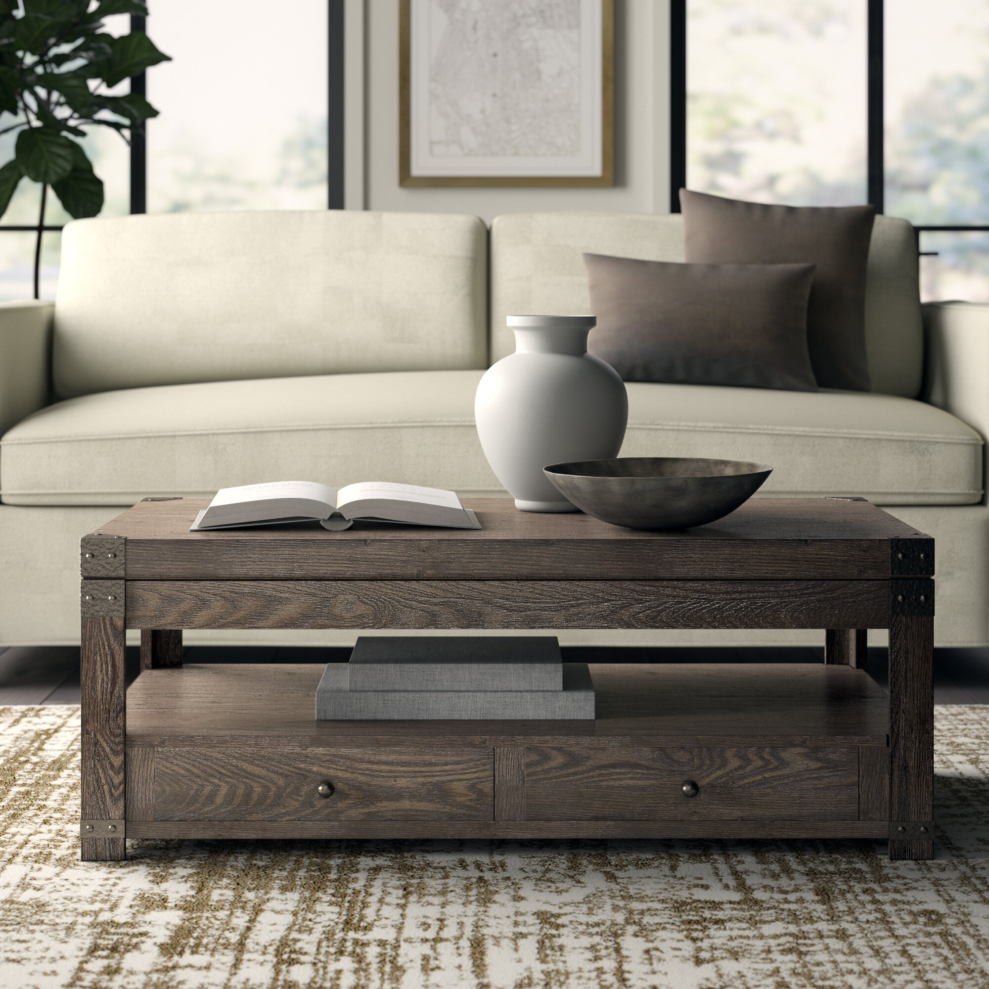 Lift Top Coffee Table.Bryan Lift Top Coffee Table