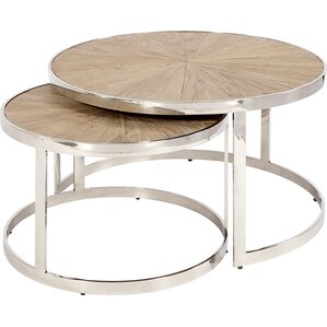 Devin 2 Piece Nesting Tables by Mistana