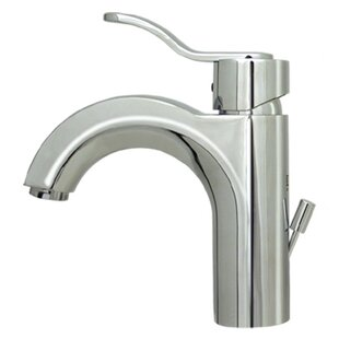 Whitehaus Collection Wavehaus Single Hole Bathroom Faucet with