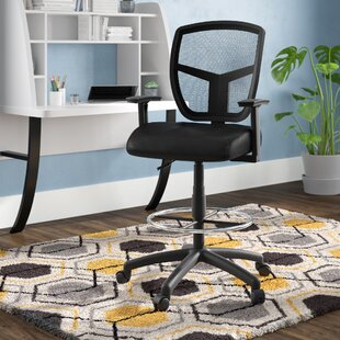 Huckins Mesh Drafting Chair