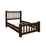 Trainor Rustic Barn Wood Style Mission Standard Bed by Loon Peak®