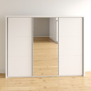 Holmes 3 Door Sliding Wardrobe By Mercury Row