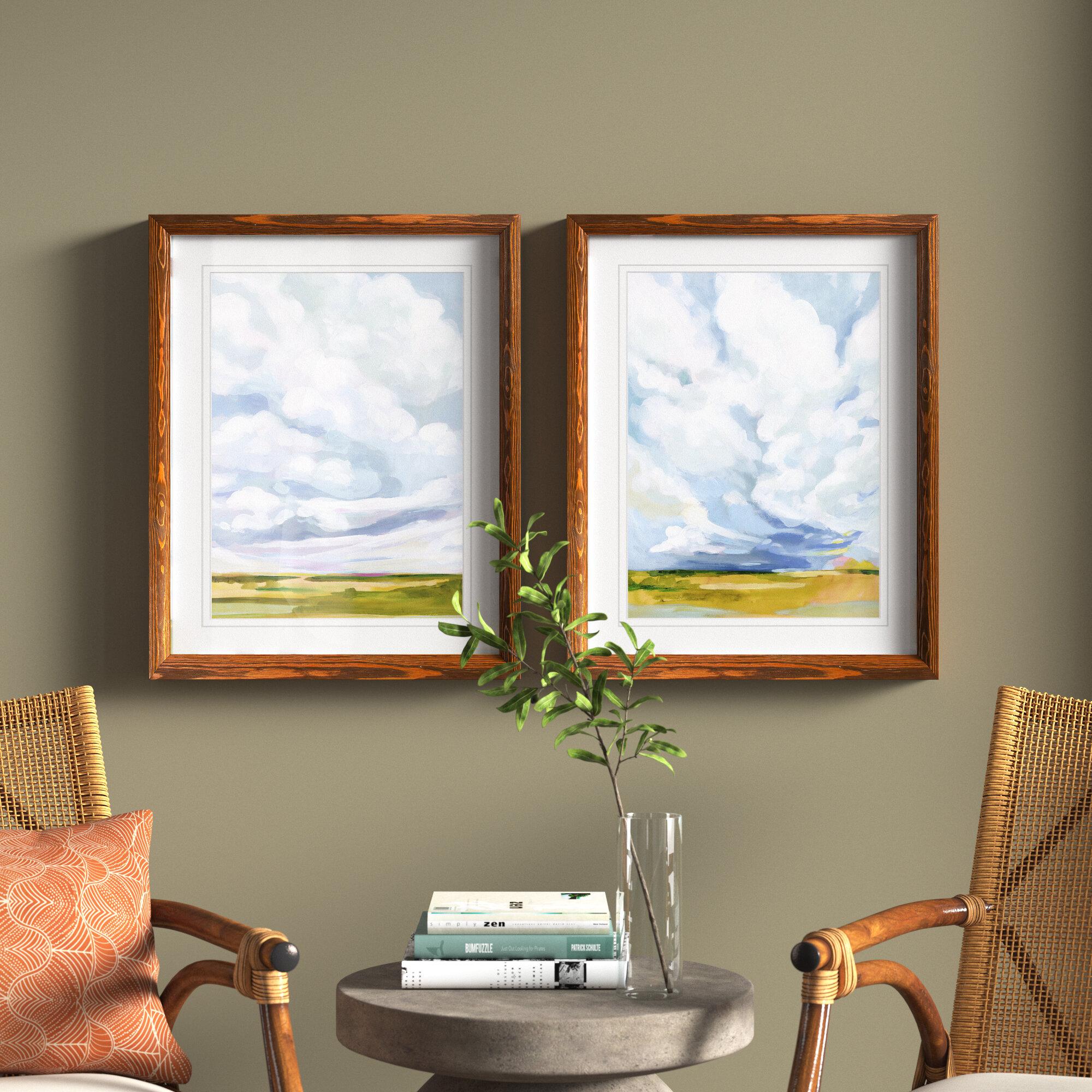 Joss Main Ocean Eye I By Vincent Van Gogh 2 Piece Picture Frame Painting Print Set Reviews Wayfair