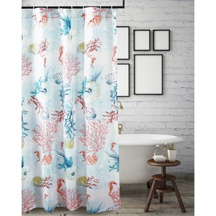 Compare prices Jeremy Shower Curtain ByHighland Dunes