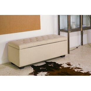 Ivy Bronx Maubara Upholstered Storage Bench