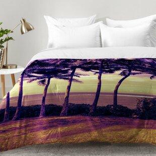 East Urban Home Crozier Sunset Comforter Set
