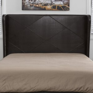 Bed Backboard leather headboards you'll love | wayfair
