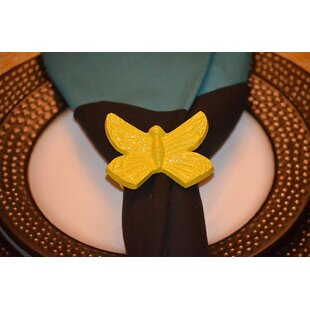Butterfly Napkin Ring (Set of 4)