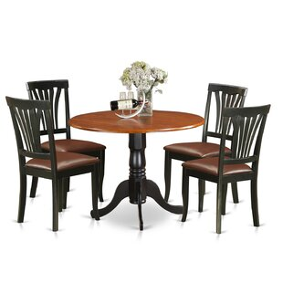 5 Piece Dining Set by East West Furniture Amazing