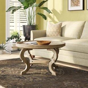 Feldt Circular Coffee Table by Bloomsbury..