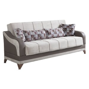 Elif 3 Seater Convertible Sleeper Sofa by Sy..