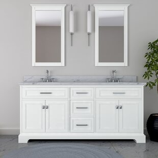 Corbridge 73 Double Bathroom Vanity Set by Darby Home Co